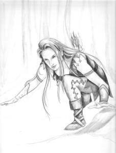elfo a caccia