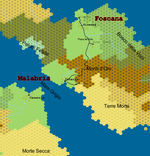 La regione iniziale